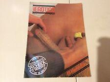 SUPER 8 EROTICO Nº 1 - EL ESPECIALISTA  Magazine vintage Spanish 1976