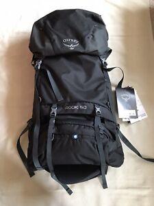 NEW Osprey Black Rook 50 Backpack Rucksack