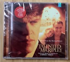 The Talented Mr. Ripley (1999) Cd Soundtrack Gabriel Yared New Sealed Cutout