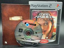 """PS 2 Playstation 2 Spiel """" TOMB RAIDER LEGEND """" KOMPLETT"""