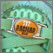ONE (1) Ragnar Relay Ultra Marathon Shoe Shoelace Charm Tag 2015 2016 2017 2018