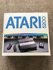 Atari 5200 Console NEW UNUSED. + 14 Games + Extra Controller Pac-Man Centipede