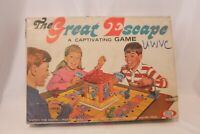 Ideal The Great Escape Game A Captivating Game Vintage family Board Game 1967