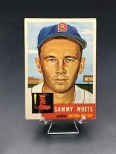 1953 TOPPS BASEBALL SAMMY WHITE SP VG-EX #139 BOSTON RED SOX