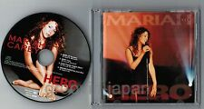 "MARIAH CAREY Hero /Hero-Live JAPAN 5"" PICTURE CD w/PIC SLEEVE SRCS6969 Free S&H"