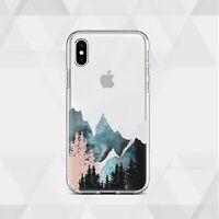 Nature iPhone 12 XS SE Case Art Design iPhone 7 8 Cover Clear iPhone 11 XR Skin