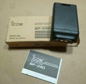 ICOM 2WAY RADIO BATTERY CASE BP-240 FITS IC-F43TR, IC-F33GT/GS & IC-F14/S SERIES