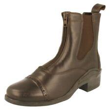 Botas de caña alta de mujer marrón, talla 40