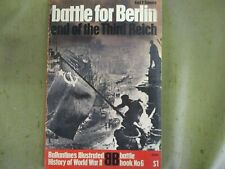 "Ballantine Illustrated History of WWII ""Battle for Berlin"" Battle Book #6"