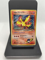 1998 Pokemon Japanese Gym Heroes Holo Rocket's Moltres #146 LP - Light Play