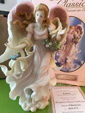 "Seraphim Classics Angel ""Ashley"" with Bluebird of Happiness by Roman w/Box"