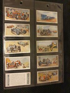 Motor Races (1931) Ogdens Cigarette Cards - Choose Your Card