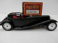 Solido Age d'Or 1/43 Scale. Bugatti Royale. No: 136. Black.