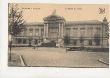 Tournai Palais de Justice Belgium 1917 Postcard 946a