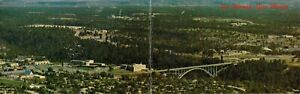 The Atomic (Bomb) City, Los Alamos, NM Bi-Fold Postcard