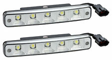 Tagfahrlicht 10 LEDs SMD E-Prüfzeichen E11 + R87 DRL 6000K TFL6