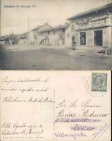 COLOMBARO NEGOZI E DONNA CON BAMBINO  IN POSA FOTOGRAFICA-RARA/BELLA*N.47325