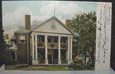 1906 Postcard Of Commercial Club Brockton Massachusetts Sent To Whitman Mass