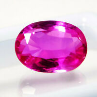 5 Ct IGI CERTIFIED Untreated 100% Natural Rubylite Tourmaline Precious Gemstone
