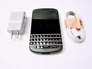 BLACKBERRY Q10 UNLOCKED CELL PHONE ROGERS CHATR BELL TELUS AT&T KOODO FIDO LUCKY
