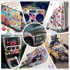 Popular 100 pcs Car Auto Skateboard Laptop Luggage Suitcase Sticker Vinyl Decal