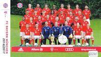 FC Bayern München + Das Team + Saison 2016/2017 + Offizielle Fotokarte + AK56