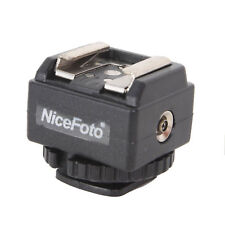 NICEFOTO C-N2 Hot Shoe Converter Adapter For Nikon Flash To Canon Camera