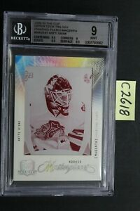 2009-10 The Cup - ANTTI NIEMI - Trilogy RC Printing Plate 1/1 - BGS 9 (C2618