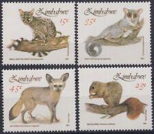 F-Ex19517 Zimbabwe Mnh 1962-1975 Smalls Mammals Fauna Squirrel Night Ape.