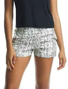 Commando Faux Snakeskin Leather Jet Set Jogger Shorts Size Small NWT
