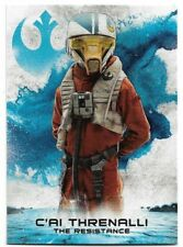 2018 Topps Star Wars The Last Jedi SERIES 2 Leaders the Resistance RS-8