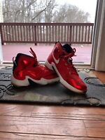 Nike LeBron 13 Youth Basketball Shoes - Black/ Red, Size 4.5; With Box