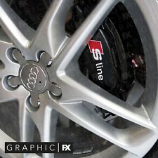 Audi S Line Front Brake Caliper Stickers Decals