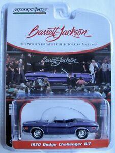 1970 Dodge Challenger R/T Conv. lila met.   Barrett Jackson  /  Greenlight 1:64