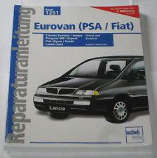 Repair Manual Citroen Evasion Jumpy Peugeot 806 Expert Fiat Ulysse Scudo