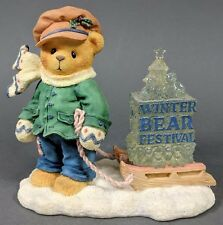 Cherished Teddies ~ Jame - Going My Way For The Holidays (269786) *Mint*
