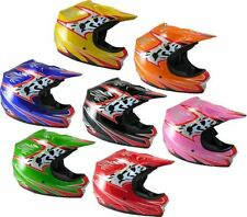 Qtech Off Road Graphic Motorcycle Helmets