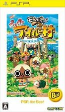 Used PSP Capcom MonHun Nikki Poka Poka Ailu Mura SONY PLAYSTATION JAPAN IMPORT