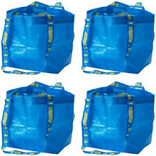4x IKEA Small BRATTBY Tote Shopping Bag, Reusable, Laundry, Storage & ECO Bag