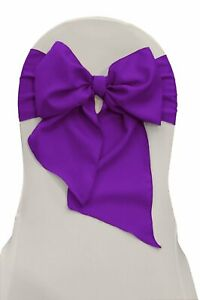 Set 30 Chair Sashes Polyester 6x104 Inch By Broward Linens (Variety Of Colors)