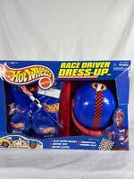 Hot Wheels Race Car Driver Dress-Up 1998 Box Has Damage See Photos