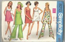 Simplicity Pattern 8213, Vintage Dress or Top, Pants Size 11, bust 34, Uncut