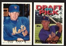 1995 Topps NEW YORK METS Team Set with Traded  28 Cards