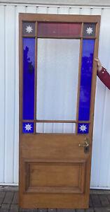 Beautiful Victorian Stained Glass Door