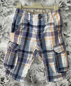 Boys Age 6 (5-6 Years) Next Checked Shorts