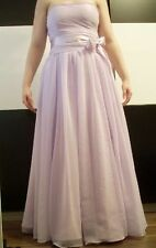 Chiffon Bandeau Patternless Dresses for Women