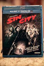 Sin City (Blu-ray/Digital, 2005, 2-Disc Set, Widescreen) New & Sealed