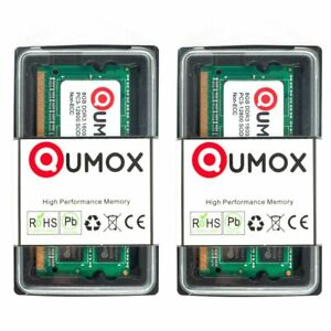 16Go QUMOX (2x 8Go)  DDR3 1600MHz PC3-12800 (204 PIN) SO-DIMM Mémoire