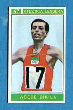Figurina/Sticker CAMPIONI DELLO SPORT 1967/68-n. 47 - A. BIKILA - ETIOPIA -rec