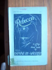 REBECCA; A Play in Three Acts   1940.[French's Acting Edition].Antiquarian